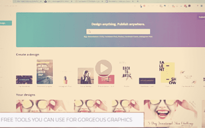 4 Free Tools You Can Use to Make Gorgeous Graphics