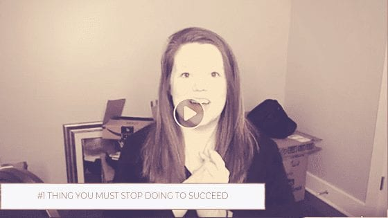 The #1 Thing You Must Stop Doing Today if You Want to Succeed